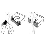 Toolflex Redskapshållare 15-20mm 2-pack